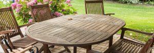Choisir sa table de jardin
