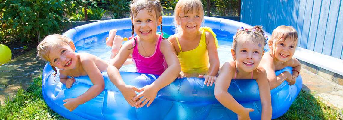 Piscine divertissements de jardin pour enfants