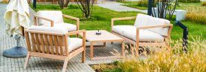 Modèle de salon de jardin en ligne
